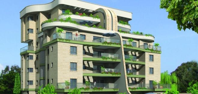 בניין בן 6 קומות, חיפוי אבן, לובי כניסה רחב ידיים ומפואר, אשר תוכנן עבורכם, המבינים יוקרה ומעריכים איכות.